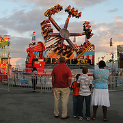 Food and rides are the main attraction around the midway of the South Florida State Fair.<br />