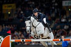 Cristofoletti Michael, ITA, SIG Debalia<br /> Stuttgart - German Masters 2018<br /> © Hippo Foto - Stefan Lafrentz