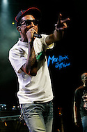 N.E.R.D - Pharrell Williams, performing at 42nd Montreux Jazz Festival, Switzerland.