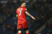 Leyton Orient midfielder Michael Collins during the EFL Trophy Southern Group G match between U23 Brighton and Hove Albion and Leyton Orient at the American Express Community Stadium, Brighton and Hove, England on 8 November 2016.