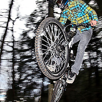Sean Guy soars off a jump on East Rock Great Barrington, Massachusetts