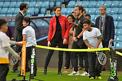 © Licensed to London News Pictures. 22/11/2017. London, UK. CATHERINE, DUCHESS OF CAMBRIDGE visit Aston Villa Football Club to see the work of the Coach Core programme taking place in Birmingham. Photo credit: Ray Tang/LNP