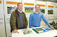 "Gabriel Trayers and Mike Donoghue from Tuam Teagasc at Sheep 2012 ""The Way Forward""  at Teagasc, Mellows Campus, Athenry, Co. Galway Photo: Andrew Downes.."