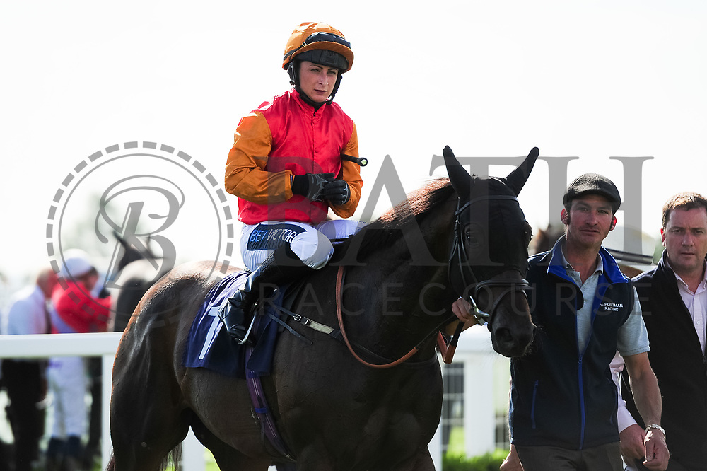 Walk On Walter ridden by Nicola Currie and trained by Jonathan Portman in the Sds Water Management Handicap race.  - Ryan Hiscott/JMP - 14/09/2019 - PR - Bath Racecourse - Bath, England - Race Meeting at Bath Racecourse