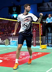 Chris Coles (Capt) of Bristol Jets - Photo mandatory by-line: Robbie Stephenson/JMP - 07/11/2016 - BADMINTON - University of Derby - Derby, England - Team Derby v Bristol Jets - AJ Bell National Badminton League