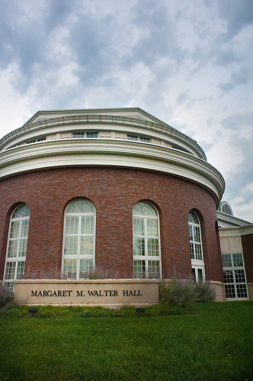 Shots of Margaret Walter Hall