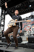 Angels and Airwaves  performing at The Bamboozle in East Rutherford, New Jersey on May 1, 2010.