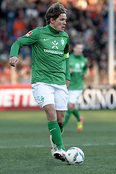 05.02.2012, MAGE SOLAR Stadion, Freiburg, GER, 1. FBL, SC Freiburg vs SV Werder Bremen, 20. Spieltag, im Bild Clemens FRITZ (SV Werder Bremen) Freisteller // during the German Bundesliga Match between SC Freiburg and SV Werder Bremen at the MAGE SOLAR Stadium in Freiburg, Germany, 2012/02/05. EXPA Pictures © 2012, PhotoCredit: EXPA/ Eibner/ Sven Lägler..***** ATTENTION - OUT OF GER *****