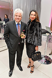 SUHEL SETH and RADHIKA CHANANA at the Liberatum 'Women In Creativity' Series: In Conversation With Courtney Love held at St.Martins, 45 St.Martin's Lane, London on 21st March 2016.