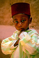 Young boy, Glaoui Kasbah (Taourirt), Ouarzazate, Morocco
