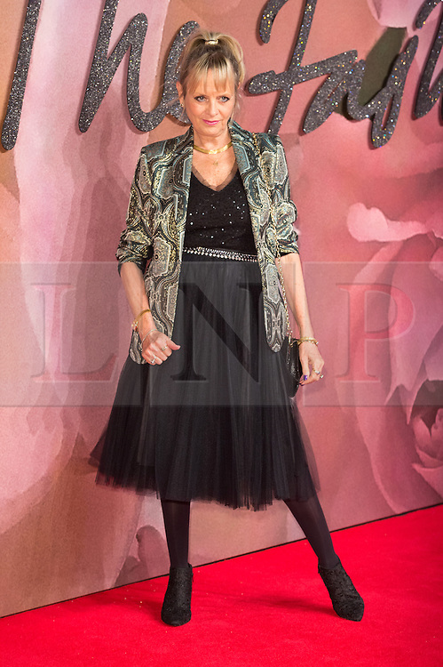 © Licensed to London News Pictures. 05/12/2016. TWIGGY arrives for The Fashion Awards 2016 celebrating the best of British and international fashion. London, UK. Photo credit: Ray Tang/LNP
