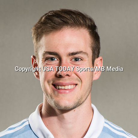 Feb 25, 2017; USA; Sporting Kansas City player Cameron Porter poses for a photo. Mandatory Credit: USA TODAY Sports