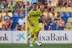July 17, 2018 - Villareal, Castellon, Spain - Pau of Villarreal CF with the ball during the Pre-Season Friendly match between Villarreal CF and Hercules CF at Mini Estadi on July 17, 2018 in Vila-real, Spain  (Credit Image: © David Aliaga/NurPhoto via ZUMA Press)