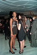 VANESSA KINGORI; SYLVIA FARAGO, GQ Style party, The Bassoon Bar , The Corinthia Hotel, Whitehall Place London. 15 March 2011.  -DO NOT ARCHIVE-© Copyright Photograph by Dafydd Jones. 248 Clapham Rd. London SW9 0PZ. Tel 0207 820 0771. www.dafjones.com.