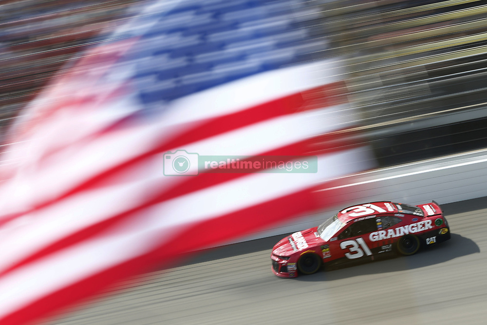 August 12, 2018 - Brooklyn, Michigan, United States of America - Ryan Newman (31) brings his race car down the front stretch during the Consumers Energy 400 at Michigan International Speedway in Brooklyn, Michigan. (Credit Image: © Chris Owens Asp Inc/ASP via ZUMA Wire)