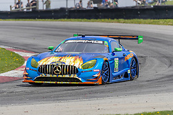 May 6, 2018 - Lexington, Ohio, United States of America - The SunEnergy 1 Racing Mercedes AMG GT3 car races through the keyhole turn during the the Acura Sports Car Challenge at Mid Ohio Sports Car Course in Lexington, Ohio. (Credit Image: © Walter G Arce Sr Asp Inc/ASP via ZUMA Wire)