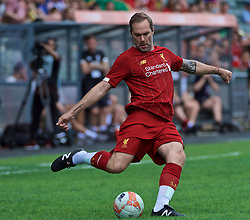 HONG KONG, CHINA - Saturday, June 8, 2019: Liverpool Legends' Jason McAteer during an exhibition match between Liverpool FC Legends and Borussia Dortmund Legends at the Hong Kong Stadium. (Pic by Jayne Russell/Propaganda)