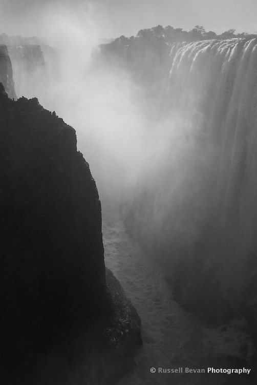 The Smoke that Thunders, Vic Falls, Zambia
