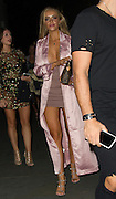 EXCLUSIVE<br /> Ex on the Beach star Megan Clarke leaving STK in London <br /> ©Exclusivepix Media