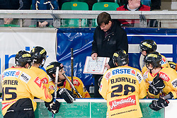 Kevin Gaudet, head coach, and his team EV Vienna Capitals during ice-hockey match between HDD Tilia Olimpija and EV Vienna Capitals in 36rd Round of EBEL league, on Januar 7, 2011 at Hala Tivoli, Ljubljana, Slovenia. (Photo By Matic Klansek Velej / Sportida.com)