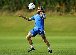 Stuart Sinclair of Bristol Rovers takes part in training - Mandatory by-line: Robbie Stephenson/JMP - 15/09/2016 - FOOTBALL - The Lawns Training Ground - Bristol, England - Bristol Rovers Training