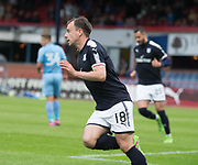 Dundee's Paul McGowan celebrates - Dundee v Bolton Wanderers pre-season friendly at Dens Park, Dundee, Photo: David Young<br /> <br />  - © David Young - www.davidyoungphoto.co.uk - email: davidyoungphoto@gmail.com
