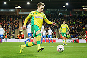 Norwich City midfielder Felix Passlack (24) during the The FA Cup 3rd round match between Norwich City and Portsmouth at Carrow Road, Norwich, England on 5 January 2019.