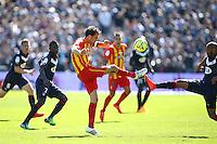 Jerome Lemoigne / Thomas Toure - 05.04.2015 - Bordeaux / Lens - 31eme journee de Ligue 1<br />Photo : Manuel Blondeau / Icon Sport