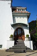 Künstlerkolonie, Haus Deiters, Mathildenhöhe, Jugendstil, Darmstadt, Hessen, Deutschland | Centre of Art Noveau on Mathildenhoehe, Darmstadt, Germany