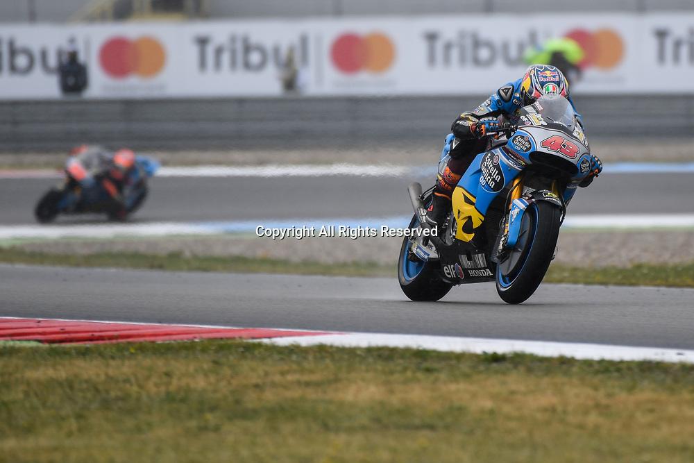 June 24th 2017, TT Circuit, Assen, Netherlands; MotoGP Grand Prix TT Assen, Qualifying Day; Jack Miller (Marc VDS) during the qualifying sessions