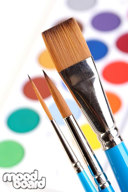 Paints - close up