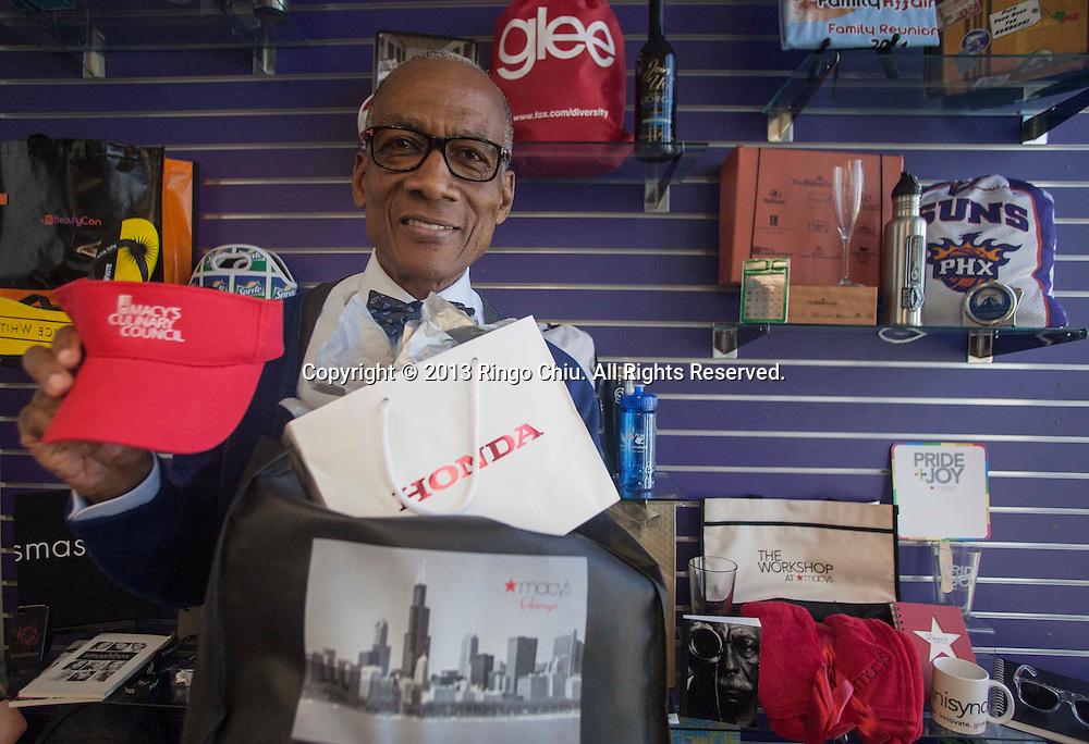 Walter Hill, president & CEO of Icon Blue, Inc., a company makes branded merchandise. (Photo by Ringo Chiu/PHOTOFORMULA.com)