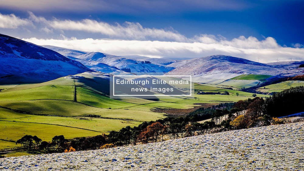 Winter landscape in the Scottish Borders near Broughton<br /> <br /> (c) Andrew Wilson | Edinburgh Elite media