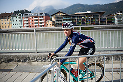 Tayler Wiles (USA) at UCI Road World Championships 2018 - Elite Women's Road Race, a 156.2 km road race in Innsbruck, Austria on September 29, 2018. Photo by Sean Robinson/velofocus.com