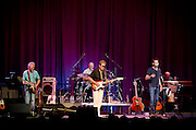 The Bacon Brothers band performing at the Ocean City Music Pier.