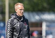 FODBOLD: Cheftræner Lasse Holmgaard (BK Frem) under kampen i 2. Division mellem BK Frem og Slagelse B&I den 11. maj 2019 i Valby Idrætspark. Foto: Claus Birch
