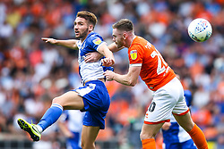 Luke Leahy of Bristol Rovers challenges Oliver Turton of Blackpool - Mandatory by-line: Robbie Stephenson/JMP - 03/08/2019 - FOOTBALL - Bloomfield Road - Blackpool, England - Blackpool v Bristol Rovers - Sky Bet League One