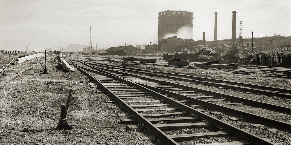 Industrial Landscape on the outskirts of Barcelona,Catalonia, Spain