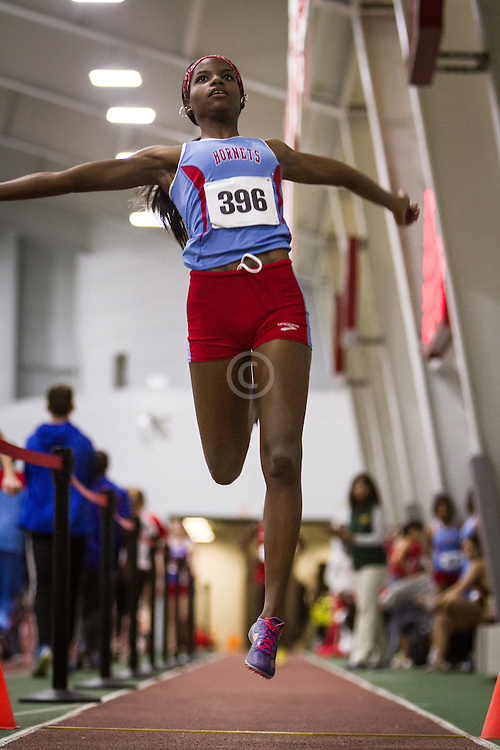 Boston University Multi-team indoor track & field, womens long jump, Delaware State, 396