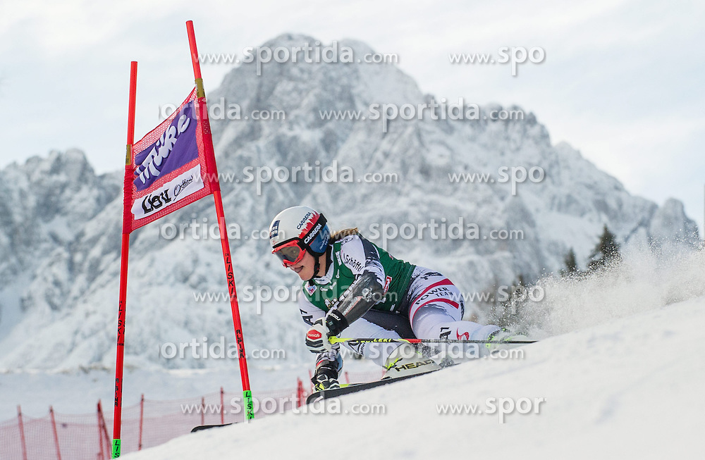 28.12.2013, Hochstein, Lienz, AUT, FIS Weltcup Ski Alpin, Lienz, Riesentorlauf, Damen, 1. Durchgang, im Bild Ramona Siebenhofer (AUT) // during the 1st run of ladies giant slalom Lienz FIS Ski Alpine World Cup at Hochstein in Lienz, Austria on 2013-12-28, EXPA Pictures © 2013 PhotoCredit: EXPA/ Michael Gruber