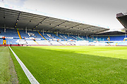 A general view of Revie Stand at Elland Road before the EFL Sky Bet Championship match between Leeds United and Swansea City at Elland Road, Leeds, England on 31 August 2019.