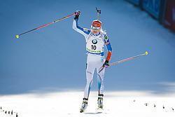 Third placed Kaisa Makarainen (FIN) during Women 10 km Pursuit at day 3 of IBU Biathlon World Cup 2015/16 Pokljuka, on December 19, 2015 in Rudno polje, Pokljuka, Slovenia. Photo by Ziga Zupan / Sportida