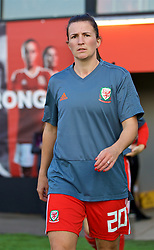 NEWPORT, WALES - Friday, August 31, 2018: Wales' Helen Ward before the FIFA Women's World Cup 2019 Qualifying Round Group 1 match between Wales and England at Rodney Parade. (Pic by David Rawcliffe/Propaganda)
