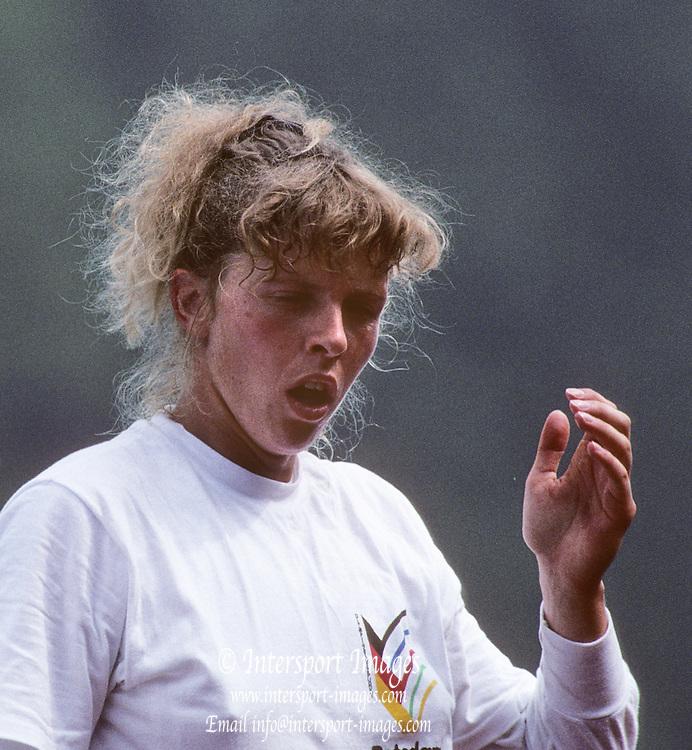 Lucerne, SWITZERLAND  GER W2X,.  1992 FISA World Cup Regatta, Lucerne. Lake Rotsee.  [Mandatory Credit: Peter Spurrier: Intersport Images] 1992 Lucerne International Regatta and World Cup, Switzerland