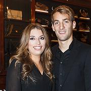 NLD/Amserdam/20131115 - Opening Nyves2, voetballer Wim Jansen en partner Nyves