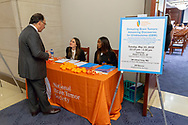 during a National Brain Tumor Society congressional briefing event at the U.S. Capitol Building visitors center on May 15, 2018. (Photo by Alan Lessig)