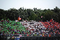 Fans.<br /> Italian Grand Prix, Sunday 7th September 2014. Monza Italy.