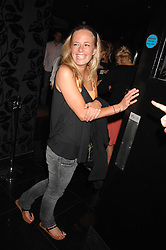ASTRID HARBORD at the opening of the new club Chloe, 3 Cromwell Road, London on 7th June 2007.<br />