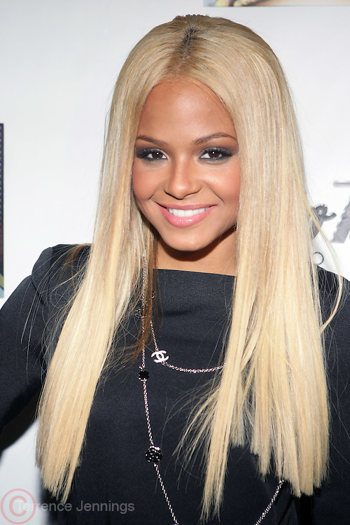 Christina Milian at The Dream's Black Tie Album Release Party held at The Hiro Ballroom on March 11, 2008 in New York City.  ..The Dream- Platinum-selling, award-winning, R&B Recording Artist, Writer and Producer, whose sophomore album, Love vs. Money, out NOW!