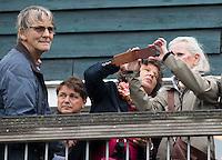 BLOEMENDAAL - Ouders Jolie. Oud internationals Eby Kessing, Ronald Brouwer en Nick Meijer, alle spelers van Bloemendaal, namen afscheid met een afscheidsdrieluik. COPYRIGHT KOEN SUYK